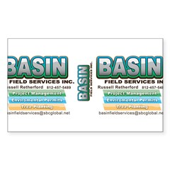 Basin Field Services Decal