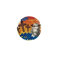 Saved by His Grace Mini Button (10 pack)
