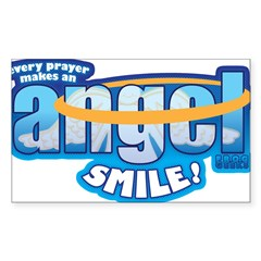 every prayer makes an angel s Decal
