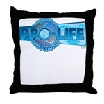 Pro-Life more smiles! Throw Pillow