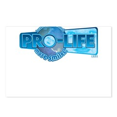 Pro-Life more smiles! Postcards (Package of 8)