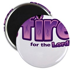 On Fire for the Lord 2 purple 2.25