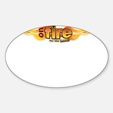 On Fire for the Lord Decal