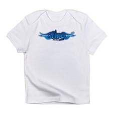 On Fire for the Lord Blue Infant T-Shirt