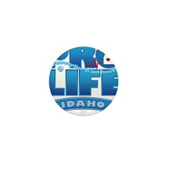 Pro-Life, from conception to Mini Button (100 pack