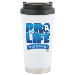 Pro-Life, from conception to Travel Mug
