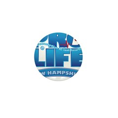 Pro-Life, from conception to Mini Button (10 pack)