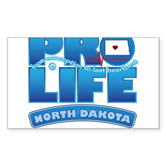 Pro-Life, from conception to Decal