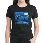 Pro-Life, from conception to Women's Dark T-Shirt