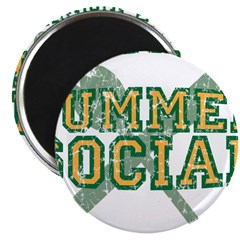 "OFFICIAL SUMMER SOCIAL FOOD T 2.25"" Magnet (10 pac"