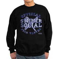 OFFICIAL SUMMER SOCIAL FOOD T Sweatshirt (dark)