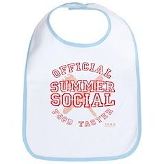 OFFICIAL SUMMER SOCIAL FOOD T Bib