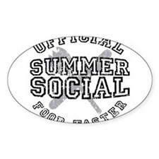 OFFICIAL SUMMER SOCIAL FOOD T Decal