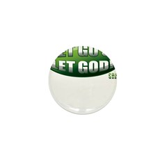 Let Go GREEN Mini Button (10 pack)