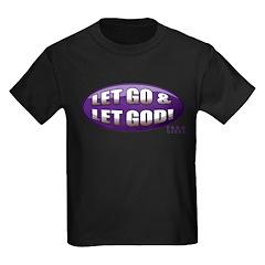 Let Go & Let God: Purple T