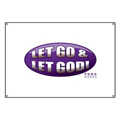 Let Go & Let God: Purple Banner