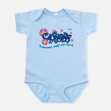 Catholic Mom Flowers Infant Bodysuit