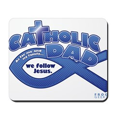 Catholic Dad Mousepad