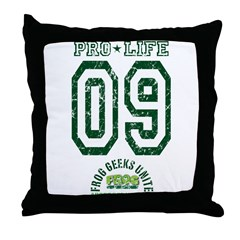 Pro Life 09 Throw Pillow