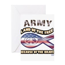 Army Family Greeting Card