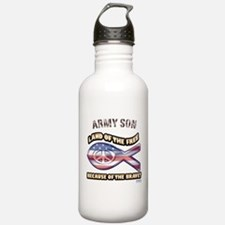 Army Son Water Bottle