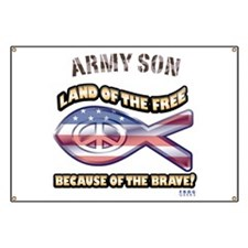 Army Son Banner
