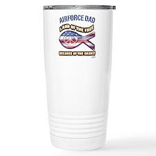 Airforce Dad Travel Coffee Mug
