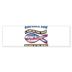 Airforce Son Bumper Sticker