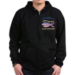 Airforce Uncle Zip Hoodie (dark)