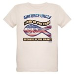 Airforce Uncle Organic Kids T-Shirt