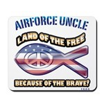 Airforce Uncle Mousepad
