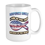 Airforce Uncle Large Mug