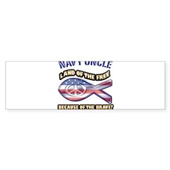Navy Uncle Sticker (Bumper 10 pk)