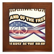 Marine Son Framed Tile