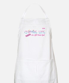 Choose Life Apron