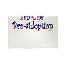 Pro-Life Pro-Adoption Rectangle Magnet