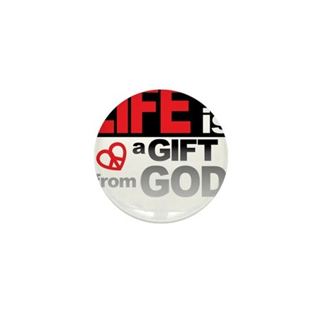 Life... GIFT from GOD Mini Button (10 pack)