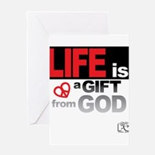 Life... GIFT from GOD Greeting Card