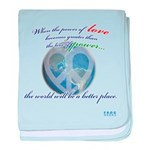 Power of Love baby blanket