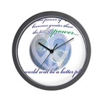 Power of Love Wall Clock