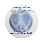 Power of Love Ornament (Round)