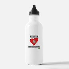 Satan-Proof Your Heart... Rea Water Bottle