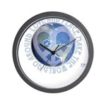 LovePeaceEarth Wall Clock
