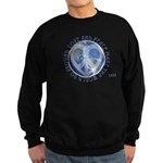 LovePeaceEarth Sweatshirt (dark)