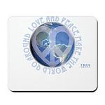 LovePeaceEarth Mousepad
