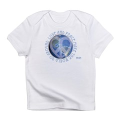 LovePeaceEarth Infant T-Shirt
