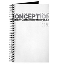 Life Begins at Conception! Journal