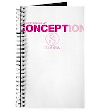 Life Begins... Girl Journal
