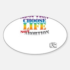 Adoption/No Abortion Decal