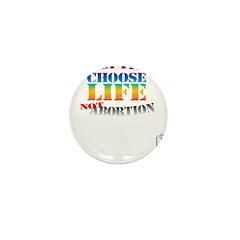 Adoption/No Abortion Mini Button (10 pack)